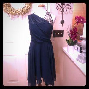 NWT 3.1 Philip Lim 4Target Navy Sequin Midi Dress
